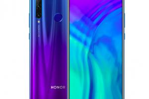 Le Honor 10i devient le Honor 20 Lite en France
