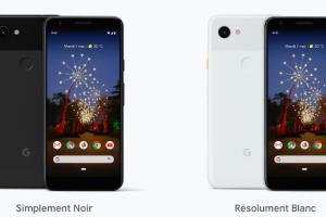 Google officialise le Pixel 3a, son smartphone le plus abordable