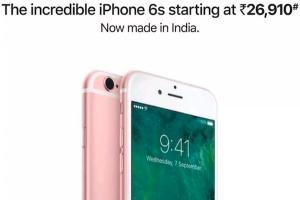 Apple appelle l'iPhone 6S à la rescousse en Inde !