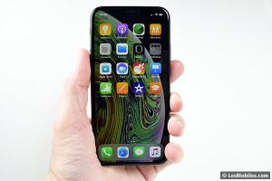 Apple iPhone : des encoches moins larges en 2020 ?