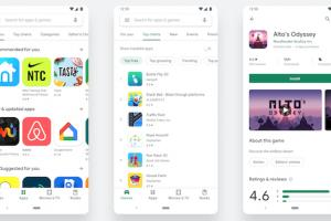 Google publie la nouvelle version du Play Store