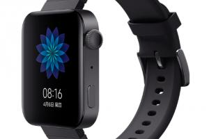 Xiaomi présente la Mi Watch, son Apple Watch sous wearOS