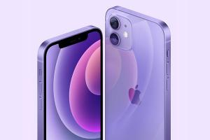 Apple lance une finition violette pour les iPhone 12 et iPhone 12 mini