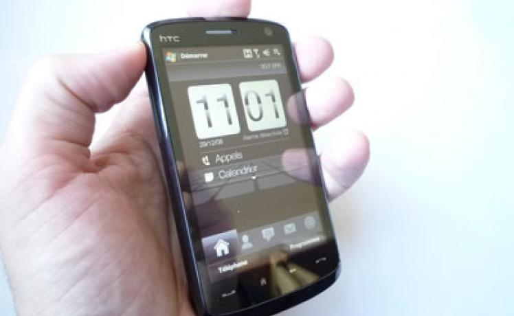 Test : HTC Touch HD