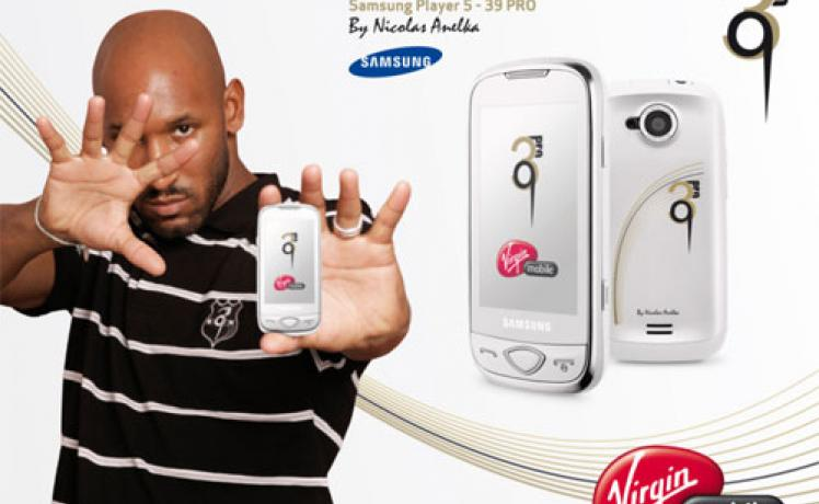 Samsung Player 5 - 39 Pro by Nicolas Anelka