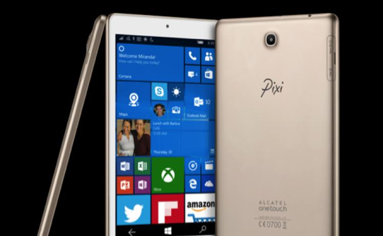Alcatel OneTouch PIXI 3 Tablet : une petite tablette surprenante sous Windows 10 Mobile (CES 2016)