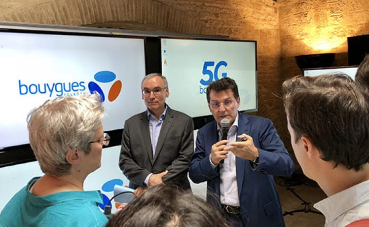 Bouygues Telecom teste la 5G en conditions réelles