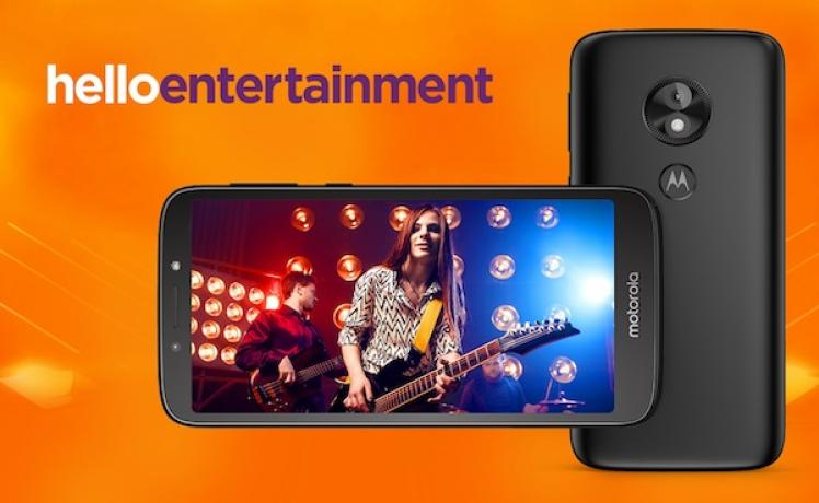Motorola annonce la version Android Go du Moto E5 Play