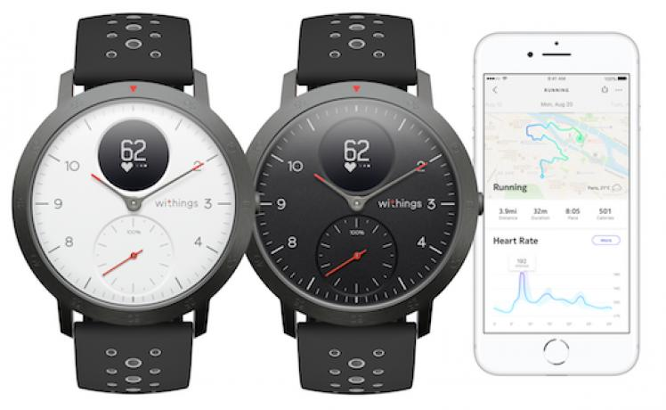 Withings présente la montre Steel HR Sport Hybrid