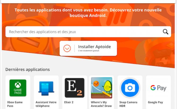 comment telecharger aptoide pour iphone